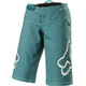 Fox Flexair fietsbroek kort Dames turquoise